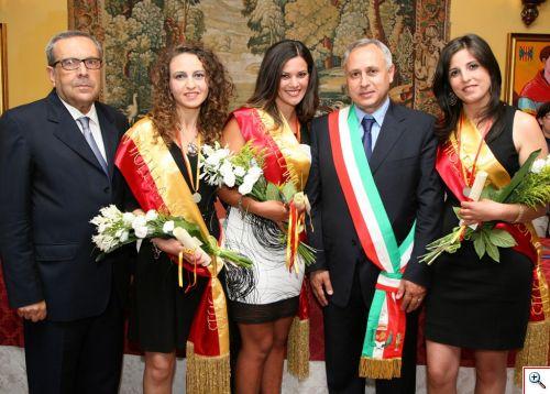 Proclamazione e Investitura della Castellana di Caccamo 2013 e delle Damigelle