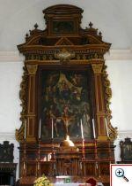 Altare maggiore - Chiesa dei Cappuccini